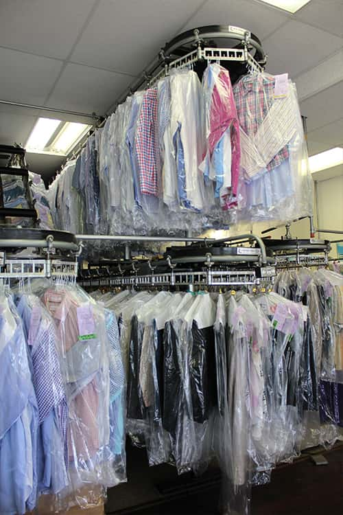 Well-organized Clothing in East Street Cleaners