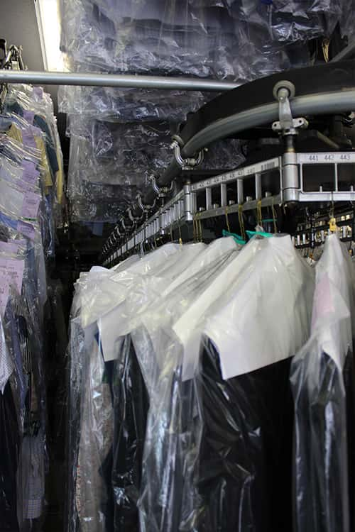 Clothing Prepare for Dry Cleaning